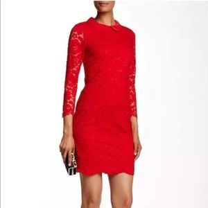 Red mini Ameera dress Ted Baker